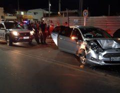 Após arrastões em Macaíba, criminosos batem carro, tomam outro veículo e fogem