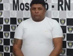 Polícia Civil prende condenado por tráfico de drogas e posse de arma de fogo
