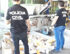 Polícia Civil incinera mais 80 quilos de drogas em Mossoró
