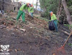 Informe Publicitário: Prefeitura realiza novo mutirão de limpeza no Rio Jundiaí