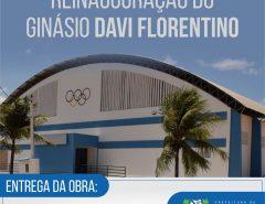 Informe Publicitário: Prefeitura reinaugura ginásio da Vila São José nesta quinta-feira (5)