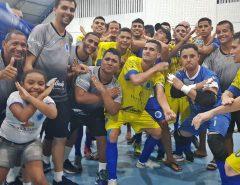 Programa Três Toques recebe delegação do Cruzeiro tricampeão estadual de futsal
