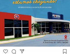 Em breve nova loja Sacolão em Macaíba