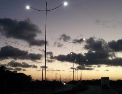 Liberado primeiro trecho iluminado do acesso sul ao Aeroporto
