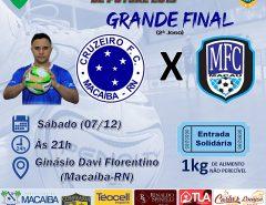 Grande Final do Estadual de Futsal 2019 acontece no próximo sábado em Macaíba