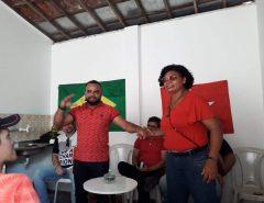 """Cícero Militão toma posse na Presidência do PT de Macaíba: """"O PT está pronto para 2020"""""""