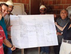 Gerson Lima e vereadores visitam a primeira escola de ensino profissionalizante em Mangabeira