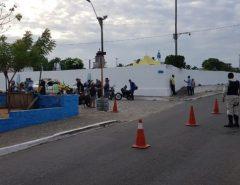 Agentes de Trânsito realizam trabalho preventivo e de fiscalização em Macaíba