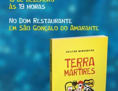 Convite de lançamento de livro