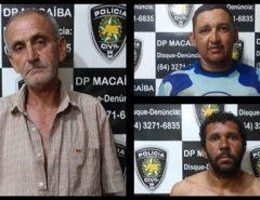 Polícia Civil deflagra 4ª Fase da Operação Espectros e prende três pessoas