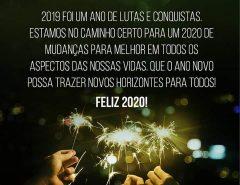 Mensagem de fim de ano de Marília Dias