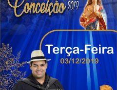 Robertinho do Acordeon se apresenta hoje (3) na Festa da Padroeira de Macaíba