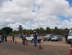 Detran atua 32 motoristas durante fiscalizações em Monte Alegre e litoral do RN