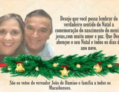 Mensagem Natalina do Vereador João de Damião