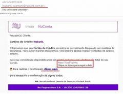 Novo golpe usa cartão Nubank para roubar dados dos usuários