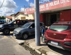 Polícia Civil apreende veículos adulterados em Guamaré