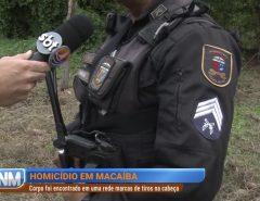 Homicídio em Macaíba: corpo é encontrado em uma rede com marcas de tiros na cabeça