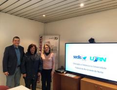 Professor da EAJ/UFRN participa de capacitação na Universidade Aberta de Portugal