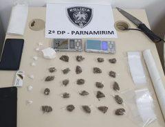 Polícia Civil prende dois homens por tráfico de drogas e corrupção de menores