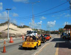 Operação Turismo Seguro é realizada na Via Costeira