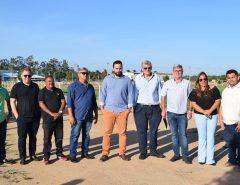Deputado Tomba Farias visita Macaíba e conhece Vila Olímpica