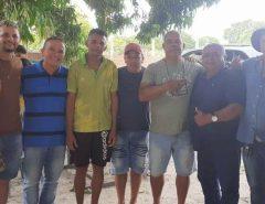 Gerson Lima e João de Damião participam de almoço em Lagoa do Mato