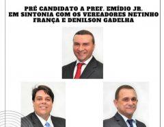 Pré-candidatura a prefeito de Emídio Jr. é destaque na imprensa estadual