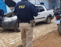 Veículo roubado na Bahia é recuperado pela PRF em Pau dos Ferros/RN