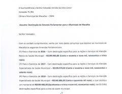 Senadora Zenaide destinou mais de meio milhão de reais de emendas para Macaíba