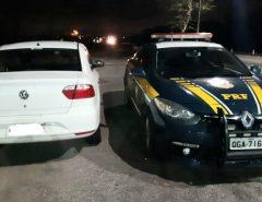Veículo roubado em Parnamirim é recuperado pela PRF em Macaíba