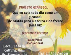 Projeto Girassol: Palestra Motivacional com Jefferson Arcanjo