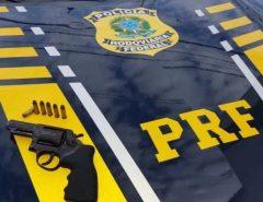 PRF prende homem por porte ilegal de arma de fogo