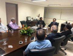 Prefeito se reúne com representantes da Câmara de Comércio Brasil-China