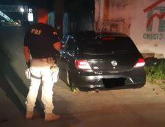 Veículo roubado é recuperado pela PRF na BR 101 em Parnamirim/RN
