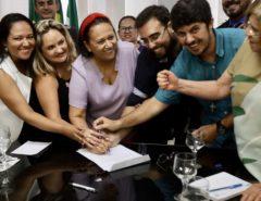 Fátima anuncia a convocação de 600 novos professores para a rede estadual