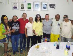 Classe política prestigia Baile de Máscaras da Casa de Cultura de Macaíba