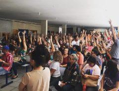 Trabalhadores e as trabalhadoras em Educação da Rede Estadual mantém indicativo de greve
