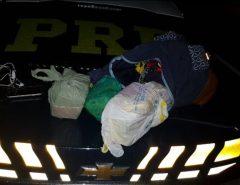 PRF e PF prendem homem com droga na BR 304 em Mossoró/RN