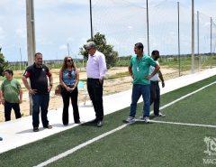Informe Publicitário: Vila Olímpica de Macaíba recebe visita da equipe pedagógica e docente do IFRN