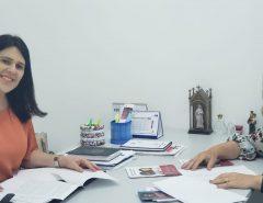 Marília Dias e Andréa Ramalho debatem políticas públicas para mulheres