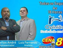 Programa Opinião Sociedade em Foco segue com a rodada de entrevistas com os pré-candidatos a prefeito da cidade de Macaíba