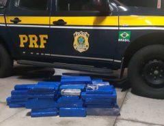 PRF apreende grande quantidade de droga em Mossoró/RN