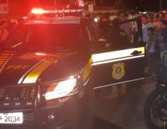 PRF prende em Parnamirim/RN dois homens com arma e motocicleta clonada