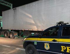 PRF recupera em São José de Mipibu/RN semirreboque roubado na Bahia