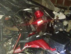 Polícia localiza desmanche de motos em Macaíba