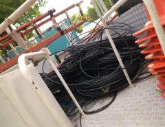 Cosern retira 3.200 metros de cabos de telecomunicação irregulares em Natal e Região Metropolitana