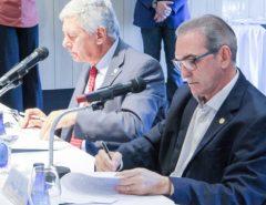 Presidente Marcelo Queiroz e Cônsul argentino instalam Câmara de Comércio, Indústria, Agricultura e Turismo Brasil-Argentina do RN