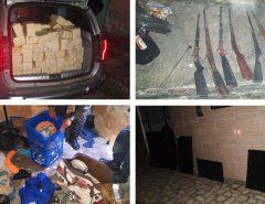11º BPM detém homem com armas, drogas e mercadorias em Macaíba