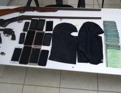 Operação conjunta da PM, PF e PC resultam na apreensão de armas em Pendências