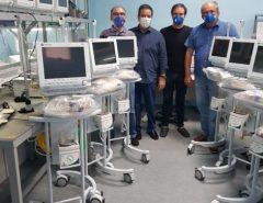 Entidades empresariais recuperam e entregam respiradores prontos para uso ao Hospital Giselda Trigueiro